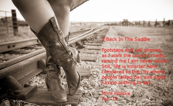 cowgirl and poem