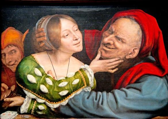 Quentin Massys, Netherlandish, Ill-Matched Lovers, c. 1520-1525