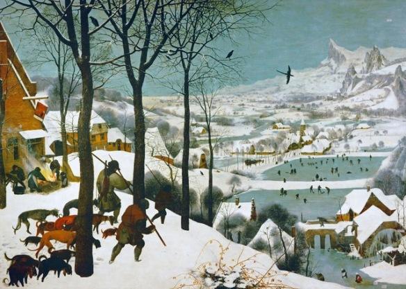 The Hunters in the Snow--Winter, 1565, Pieter Bruegel the Elder